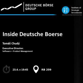 Inside Deutsche Börse – Jak uspět na finančních trzích
