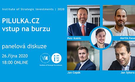 Pilulka.cz: vstup na burzu – panelová diskuze